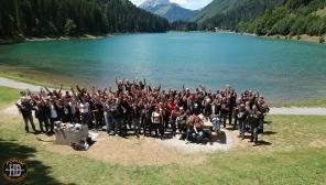 Quelques membres du Forum Passion Harley présents au Morzine Day - 2017