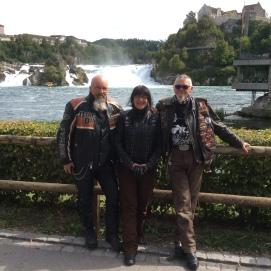 le BrotherHood aux Chutes du Rhin en Forêt Noire - 2015