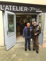 Atelier de fabrication de couteau à Thiers - 2016