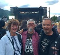Portes du Soleil , concert Trust- Morzine - 2017