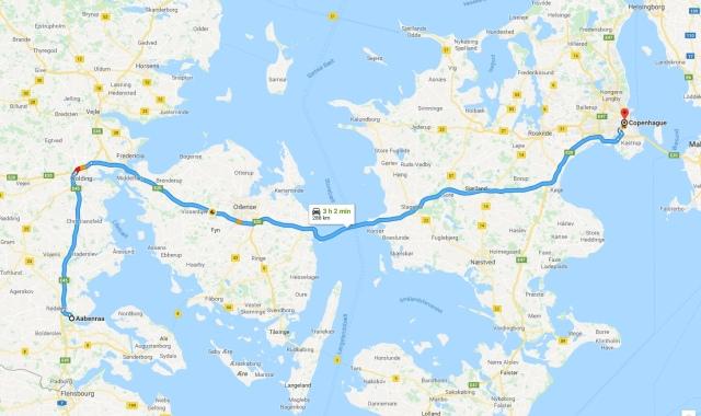 Aabenraa-Copenhague
