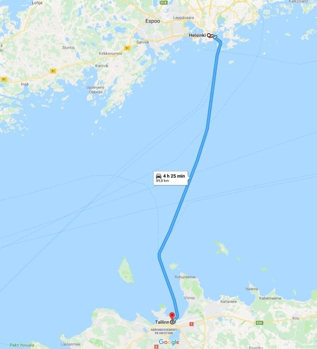 Helsinski-Tallinn