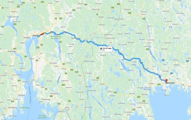 Oslo-Karlstad