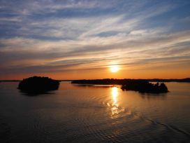 Coucher de soleil sur la Mer Baltique - 2018