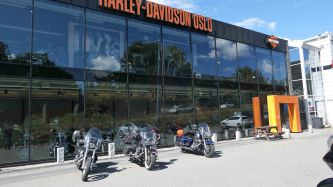 concession Harley à Oslo - 2018