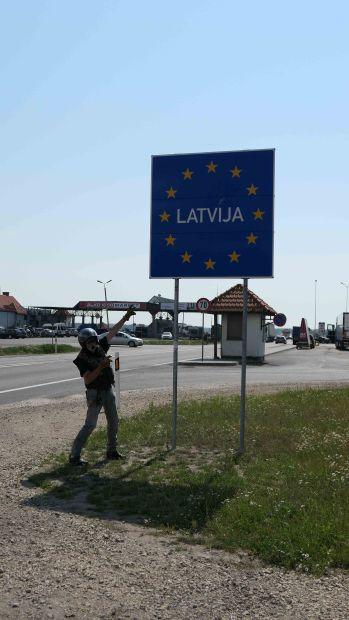 frontière lettonne - 2018