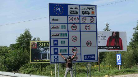 frontière polonaise - 2018