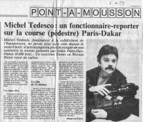 Paris Gao dakar - 1989